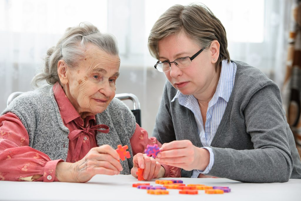 care for seniors with dementia